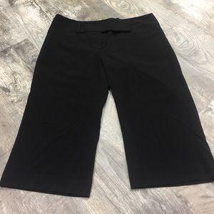 Pants - Tracy Evans black crop dress pants sz 11!