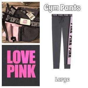 NWT VS PINK GYM PANTS
