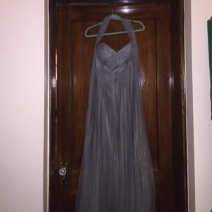 Jenny Yoo Annabelle dress size 10 sterling gray