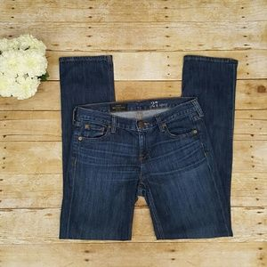 J. Crew straight Matchstick jeans