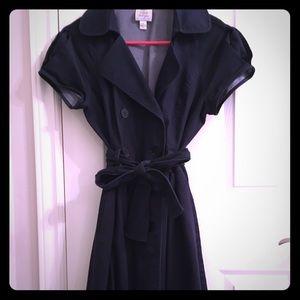 Suzy Chin Dresses & Skirts - Suzy Chin Denim Trench Coat Dress