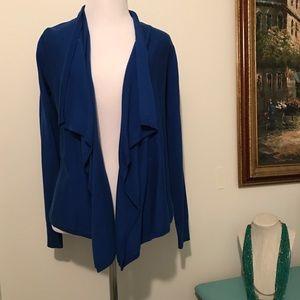 a.n.a Sweaters - A.n.a royal blue cardigan