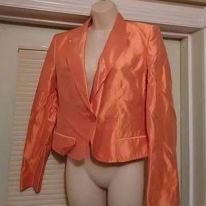 Gianfranco Ferre Jackets & Blazers - Orange sateen blazer