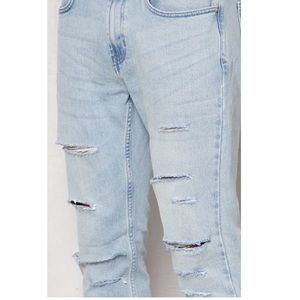 PacSun Other - Light wash distressed ripped skinny jeans PacSun