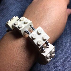 Jewelry - Geeky lego bracelet!