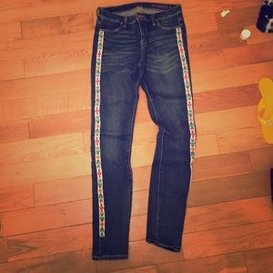 Blank NYC Denim - BLANKNYC jeans with tribal embroidery