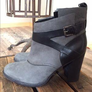 Belle by Sigerson Morrison Shoes - Belle By Sigerson Morrison Hannah Suede Ankle Boot