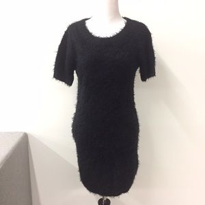 Urban Outfitters Dresses & Skirts - Fuzzy cozy black sweater dress