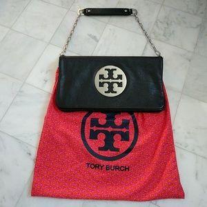 Tory Burch Handbags - Tory Burch Black Leather Clutch - Price is Firm!