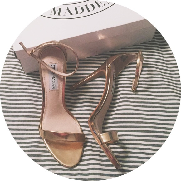 5ca069d82f92 NWT Steve Madden Stecy Rose Gold