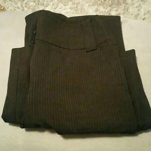 Pants - Express brown pin stripe pants