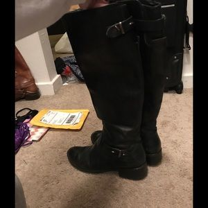 Marciano Shoes - Black Marciano Boots Knee High