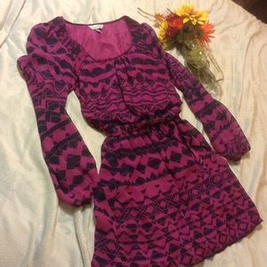 Speechless Dresses & Skirts - 💕 Pretty dress 💕navy blue/fuchsia💕