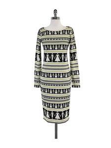 Suno Dresses & Skirts - Suno- Multi-Color Striped & People Print Dress Sz 6