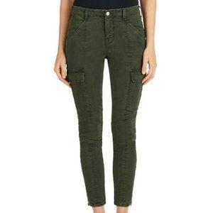 J Brand Green Cargo Jeans