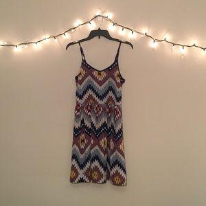 Dresses & Skirts - Multi-Colored Pattern Dress