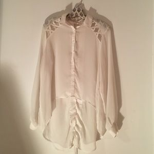 LF High Low Blouse