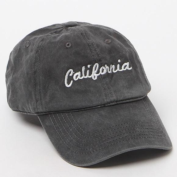John Gult Brandy Melville gray California dad hat dc09ceebaa8