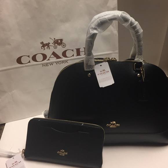 Bundle Brand New Coach bag and Wallet Set d99dd1f1fac1c