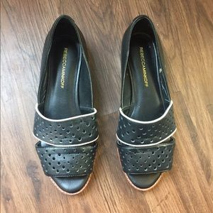 Rebecca Minkoff Black Flats/Sandal
