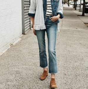 Madewell Denim - Madewell cali demi boot
