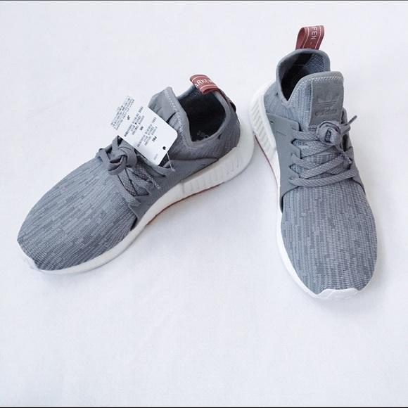 54698fa4d75fd Adidas Shoes - Adidas NMD XR1 PK W (Grey Onix Salmon)