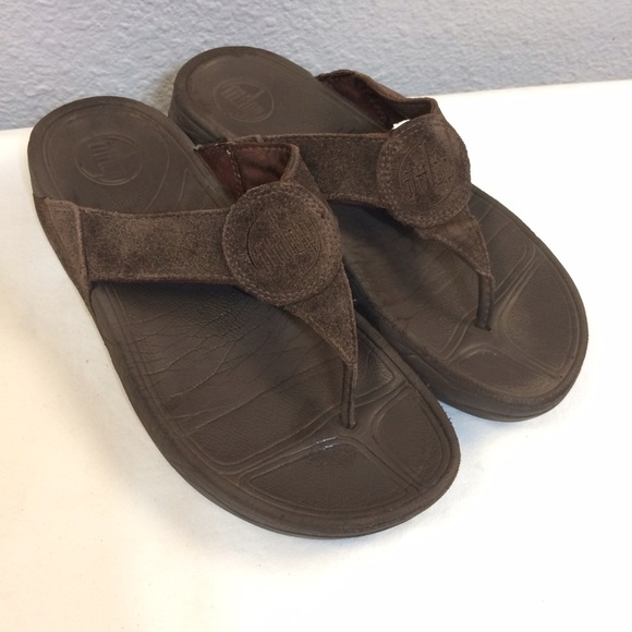 648622179 fitflop Shoes - Fitflop Oasis sandals- chocolate brown