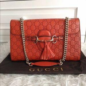 Handbags - Gucci Emily size medium (sold)