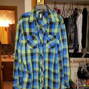 Ocean Current Other - Male button up.