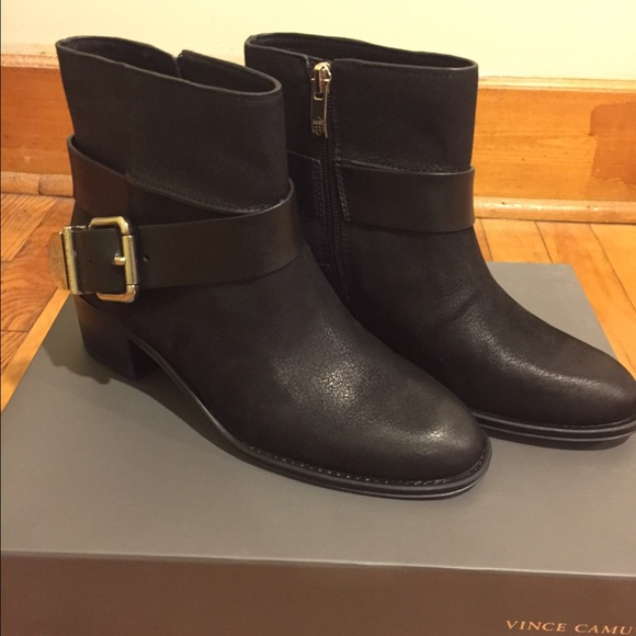 90920bd827293 Vince Camuto Shoes | Romeo Booties | Poshmark