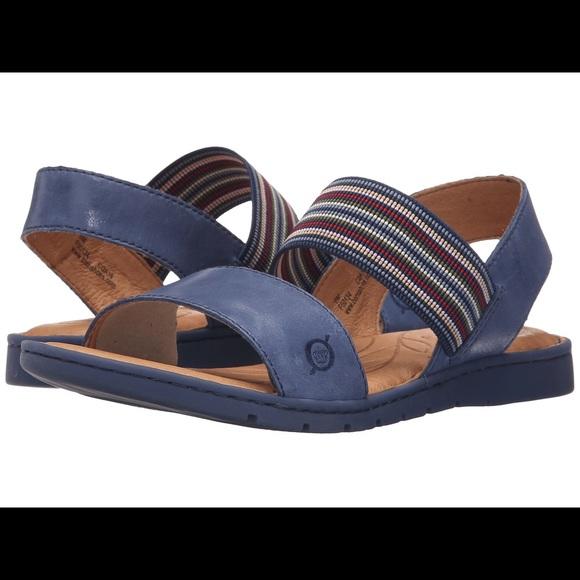 0f0aba027d2a NIB Born Women s Parson Sandals