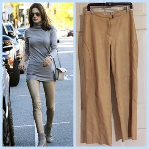 Andrew Marc Pants - 🍾Andrew Marc Buttery Camel Leather Pants. Sz 14