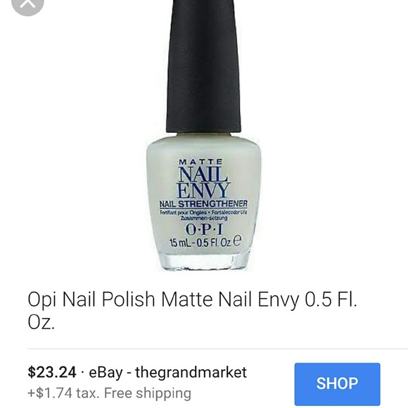 O.P.I Makeup | Treatment Opi Matte Nail Envy Strengthener | Poshmark