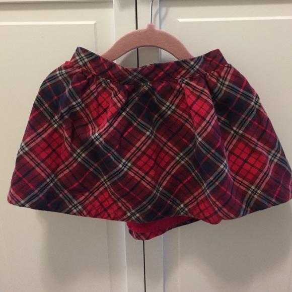 24c2ea9881 GAP Bottoms | Baby Plaid Skirt | Poshmark
