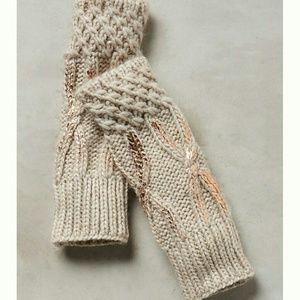 Northern Lights Fingerless Gloves