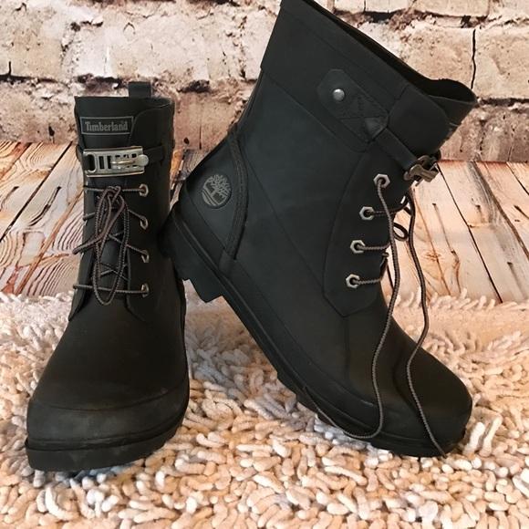 timberland rain boots wellfleet