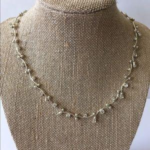 Monet Jewelry - Monet rhinestone choker silver tone