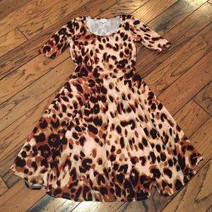 LuLaRoe Leopard Print Nicole