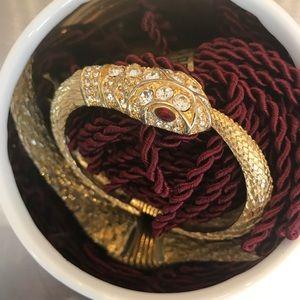 Kenneth Jay Lane Jewelry - Kenneth Jay Lane Snake Cuff Bracelet 🐍