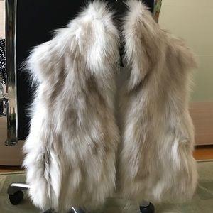 Adrienne Landau Jackets & Blazers - Fox fur vest
