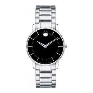 Movado women's stainless steel watch ⌚️ NIB