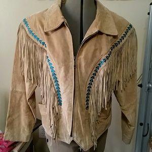 Pioneer wear xl fringed southwest cowboy jacket