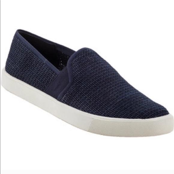 Vince Shoes - Vince! Black slip on sneakers
