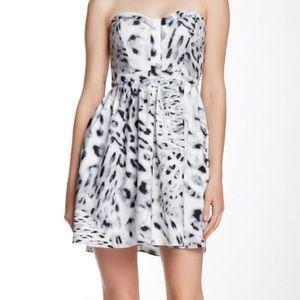 parker strapless dress on Poshmark