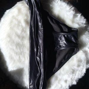 Black Victoria Secrets bikini bottom