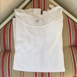 Margaret O'Leary Tops - ❗️SALE❗Margaret O'Leary White Linen Tee