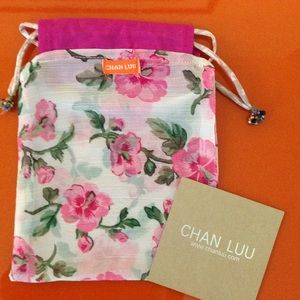 Chan Luu Handbags - 100 % authentic Chan Luu silk beaded pouch