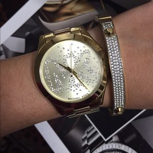 Brand New Michael Kors Gold Women's Watch