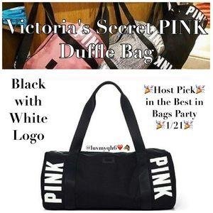 PINK Victoria's Secret Handbags - 🎉2 X HP🎉PINK Victorias Secret LE Duffle Bag