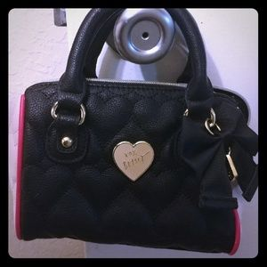 Betsey Johnson Quilted Heart handbag